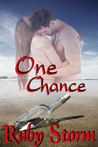cover design for the book entitled One Chance