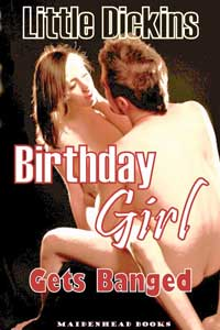 cover design for the book entitled Birthday Girl Gets Banged