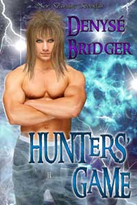 cover design for the book entitled Hunters