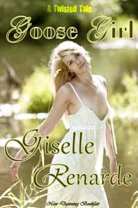 cover design for the book entitled Goose Girl