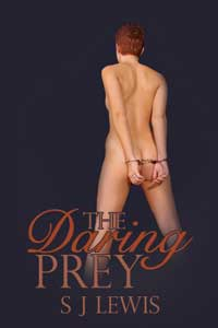 cover design for the book entitled The Daring Prey