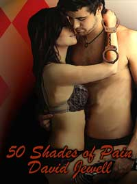 cover design for the book entitled 50 Shades Of Pain