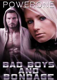 cover design for the book entitled Bad Boys And Bondage