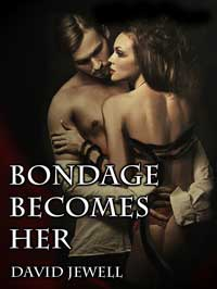 cover design for the book entitled Bondage Becomes Her