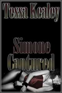 cover design for the book entitled Simone Captured