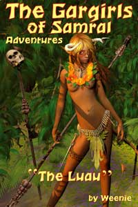 GARGIRLS OF SAMRAL ADVENTURES - THE LUAU