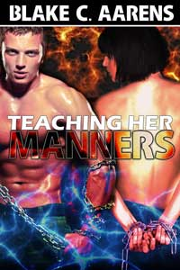 cover design for the book entitled Teaching Her Manners