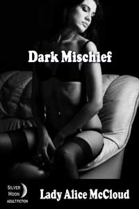 cover design for the book entitled Dark Mischief