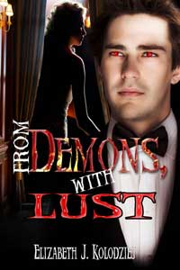 cover design for the book entitled From Demons With Lust