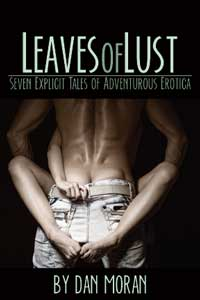 cover design for the book entitled Leaves of Lust