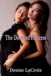 cover design for the book entitled The Doomed Princess
