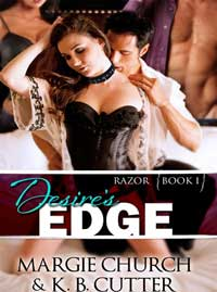 cover design for the book entitled Desire