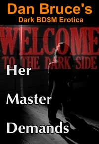 cover design for the book entitled Her Master Demands