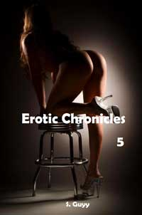 cover design for the book entitled Erotic Chronicles 5