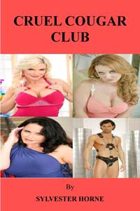 cover design for the book entitled Cruel Cougar Club