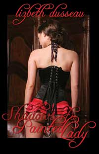 cover design for the book entitled Shadows of a Painted Lady