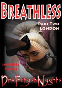 cover design for the book entitled BREATHLESS - PART TWO LONDON