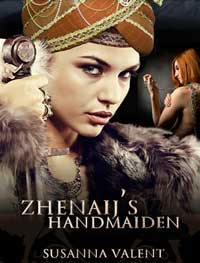 cover design for the book entitled Zhenaij