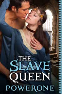 cover design for the book entitled The Slave Queen
