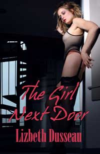 cover design for the book entitled The Girl Next Door