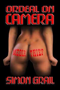 cover design for the book entitled Ordeal on Camera