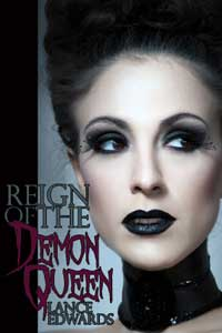 cover design for the book entitled Reign of the Demon Queen