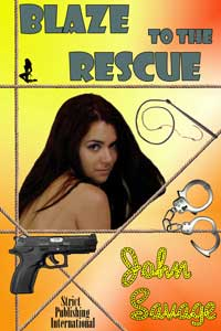 cover design for the book entitled Blaze To The Rescue