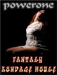 cover design for the book entitled Fantasy Bondage House