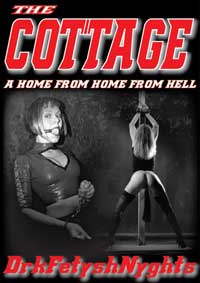 cover design for the book entitled THE COTTAGE