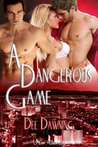 cover design for the book entitled A Dangerous Game