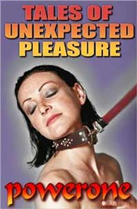 cover design for the book entitled TALES OF UNEXPECTED PLEASURE