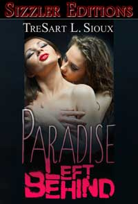 cover design for the book entitled PARADISE LEFT BEHIND