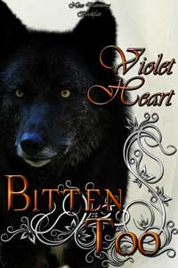 cover design for the book entitled Bitten Too