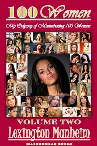 cover design for the book entitled 100 Women - Volume Two