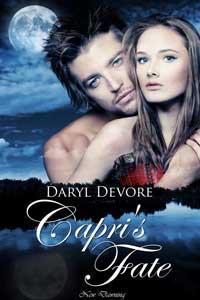 cover design for the book entitled Capri
