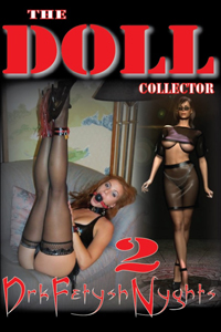 cover design for the book entitled THE DOLL COLLECTOR 2