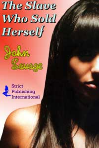 cover design for the book entitled The Slave Who Sold Herself