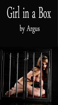 cover design for the book entitled Girl In A Box