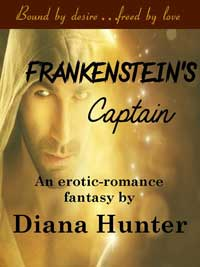 cover design for the book entitled Frankenstein