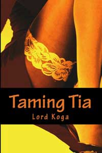 cover design for the book entitled Taming Tia