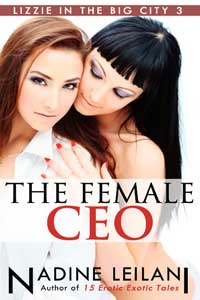 cover design for the book entitled The Female CEO