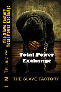 cover design for the book entitled The Slave Factory: Total Power Exchange