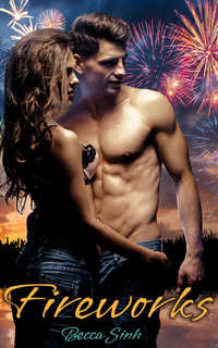 cover design for the book entitled Fireworks