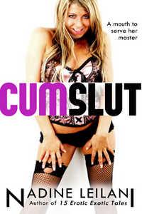 cover design for the book entitled Cum Slut