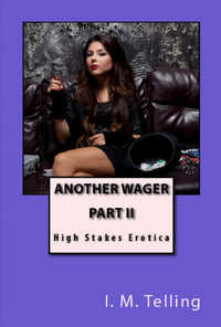 cover design for the book entitled Another Wager