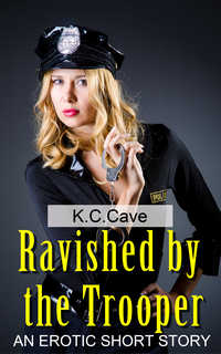 cover design for the book entitled Ravished By The Trooper