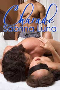 cover design for the book entitled Charade