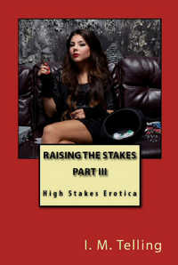 cover design for the book entitled Raising the Stakes