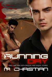 cover design for the book entitled Running Dry