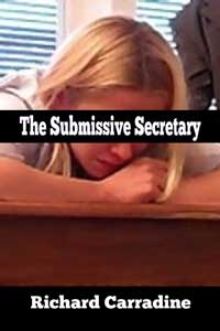 cover design for the book entitled The Submissive Secretary